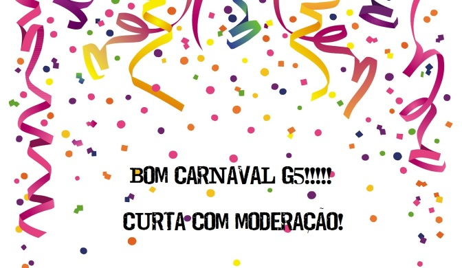 Seu ano só começa depois do Carnaval!??!